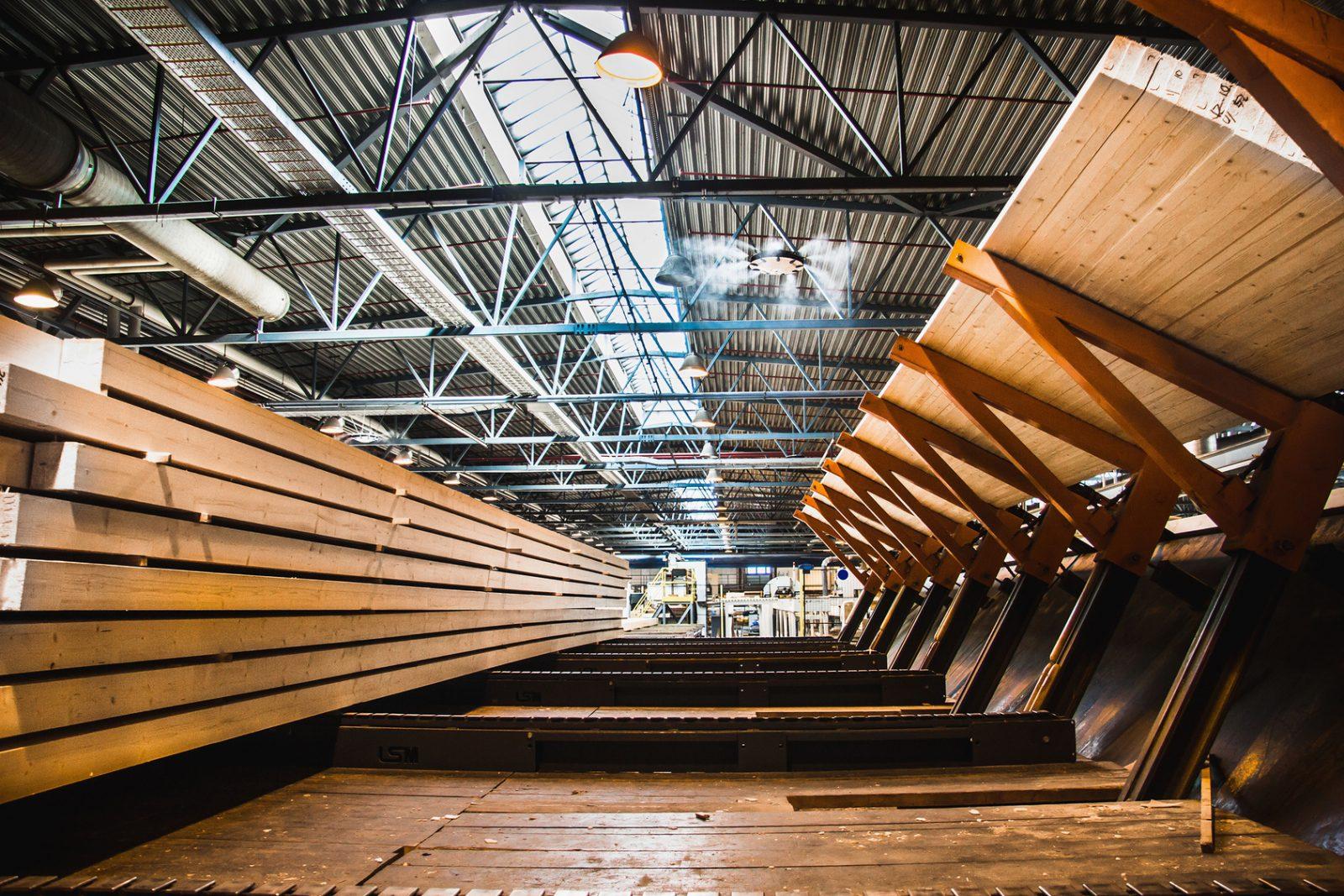 Laser in der Holzindustrie
